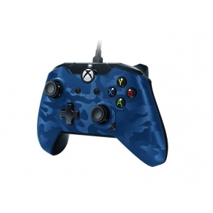 XBOXONE&PC Wired Controller Blue Camo