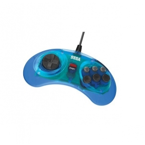 Retro-Bit SEGA MD Mini 6-B USB Blue