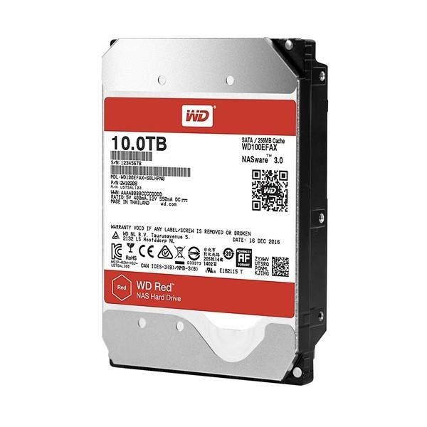 WD100EFAX 10TB Red