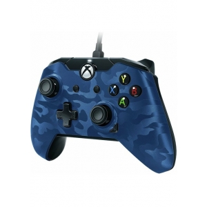 XBOXONE&PC Wired Deluxe Controller Blue Camo