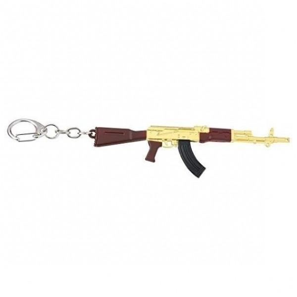 Games PUBG keychain - AK-47 Gold