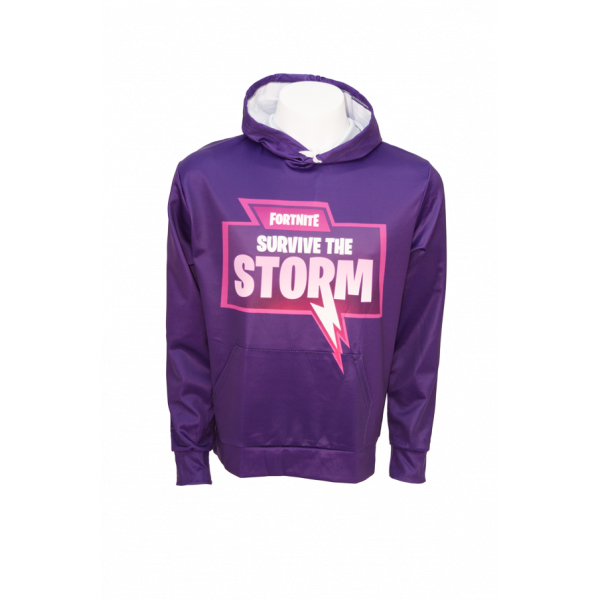 Games Fortnite Hoodie 10 - Survive the Storm Size M