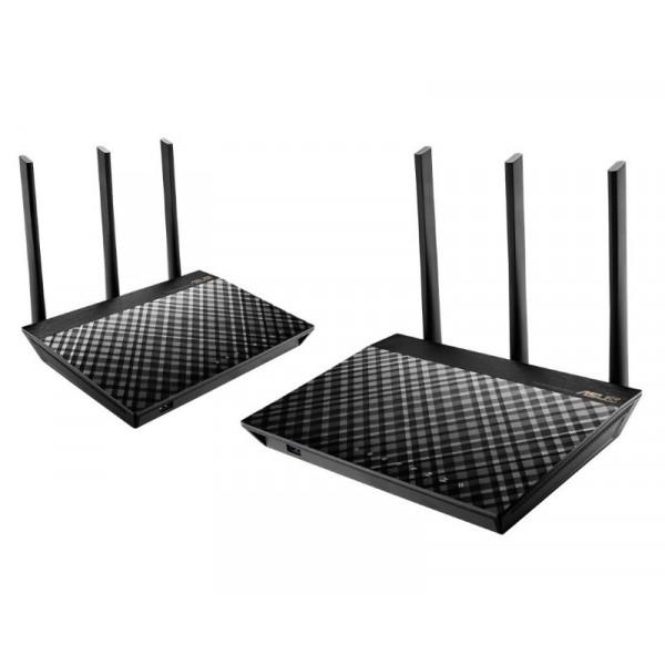 RT-AC67U Wireless AC1900 Dual Band AiMesh ruter (2 kom)