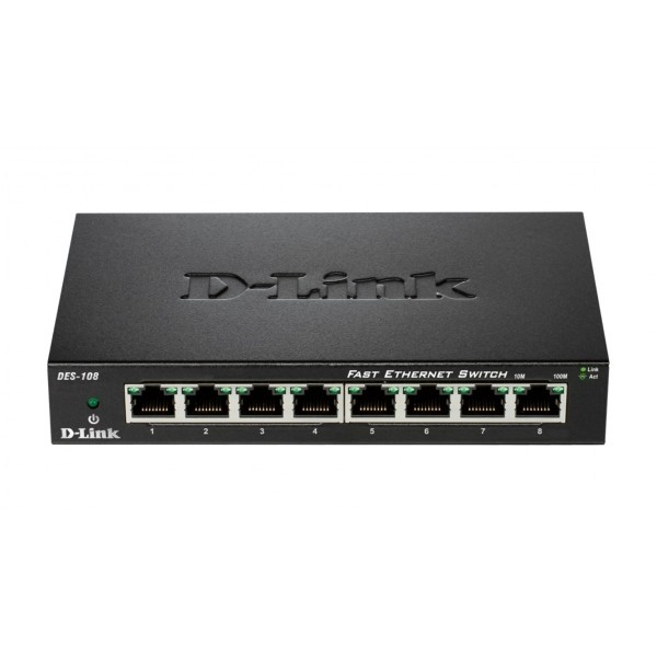 DES-108 8port Switch