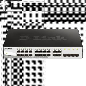 DGS-1210-16 16port + 4slot Smart switch