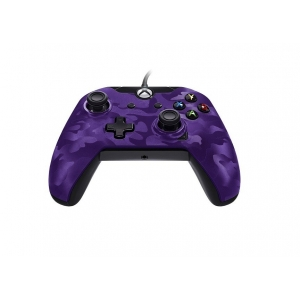 XBOXONE&PC Wired Deluxe Controller Purple Camo