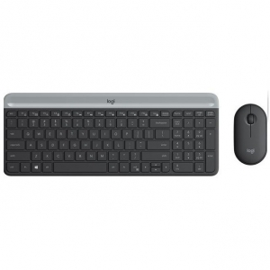 MK470 Wireless Desktop YU Graphite tastatura + miš
