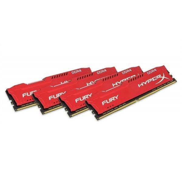 HX426C16FRK4/64 HyperX Fury Red