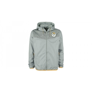 Overwatch Logo Windbreaker Gray - velicina S