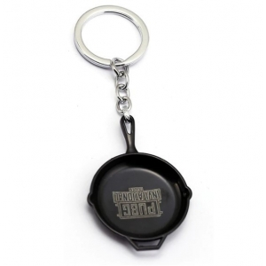 Games PUBG keychain - Pan Black