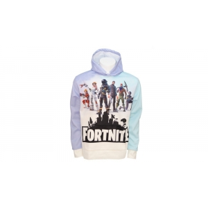 Games Fortnite Hoodie 03 - White Size L
