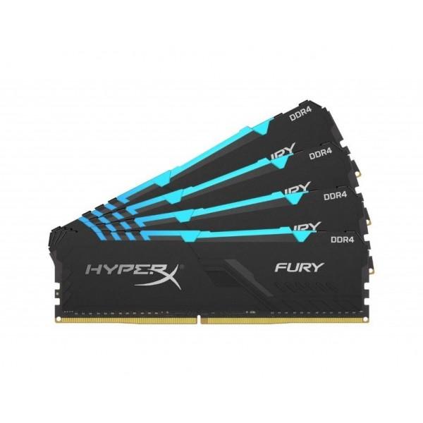 HX434C16FB3AK4/64 HyperX Fury RGB