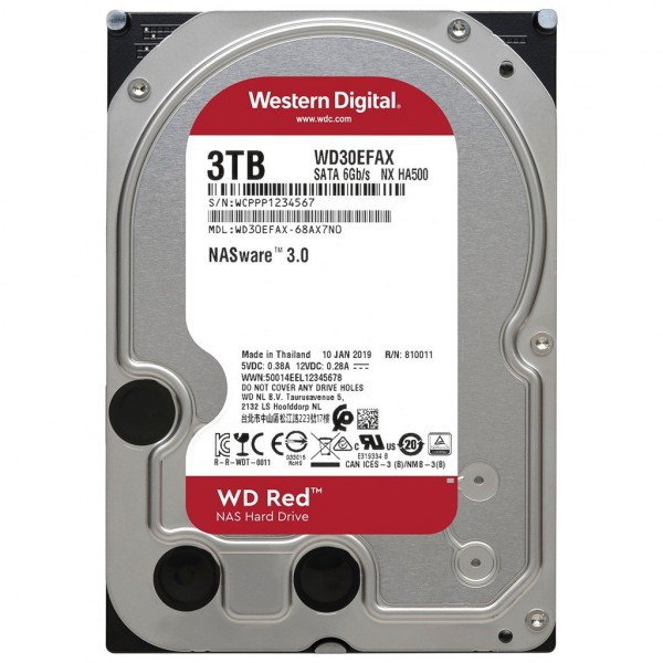 WD30EFAX 3TB Red