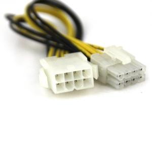 Adapter CPU 8pin (F) - 8pin (M) Extender