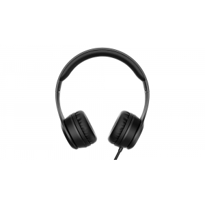 Enyo Foldable Headphones with Microphone Black
