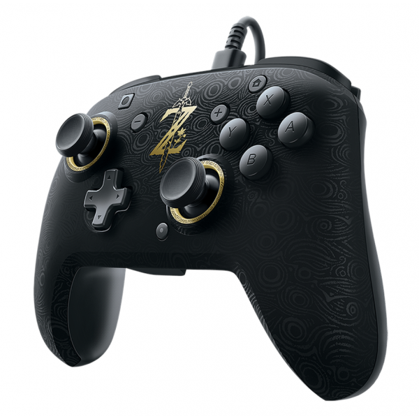 Nintendo Switch Faceoff Deluxe Wired Pro Controller Zelda Breath of the Wild