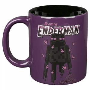 Minecraft Enderman Ceramic Mug