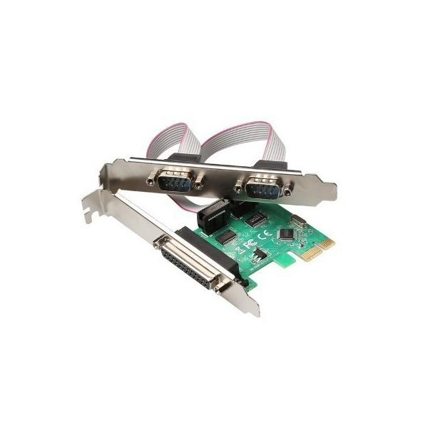 PCIExpress 2xRS232 + 1xLPT PC2PSC
