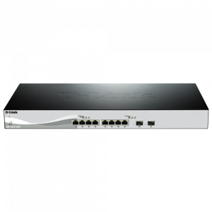 DXS-1100-10TS 10 Port 10 Gig switch including 2 SFP ports - T