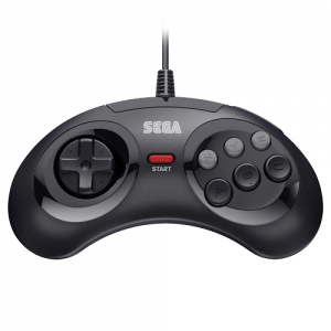 Retro-Bit SEGA MD Mini 6-B USB Black