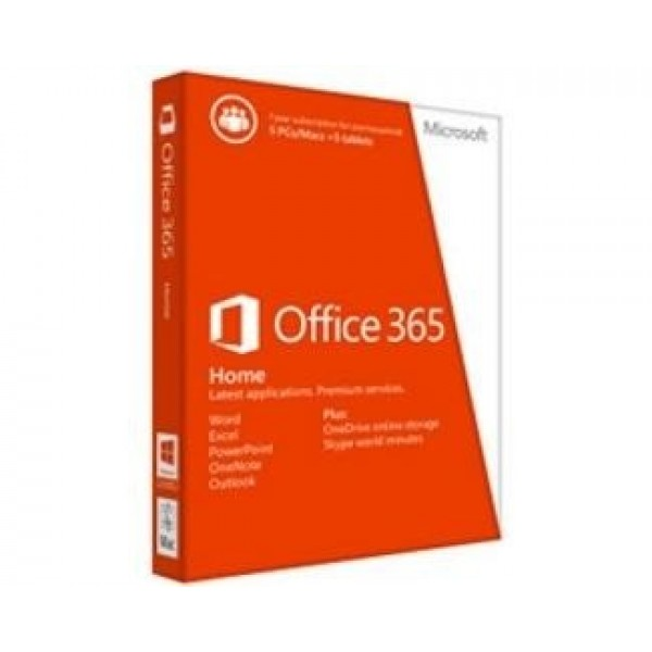 Office 365 Home English Subscr 1YR