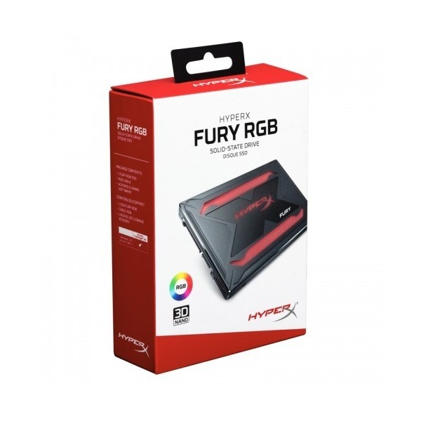 SHFR200/480G HyperX FURY RGB