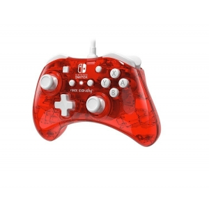 Nintendo Switch Wired Controller Rock Candy Mini Stormin Cherry