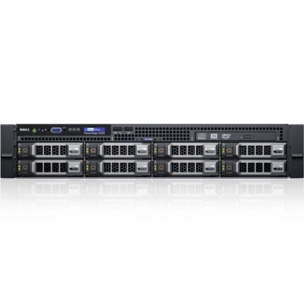 PowerEdge R530 2x Xeon E5-2620 v4 8C 2x16GB H730 2x300GB SAS SD DVDROM 750W