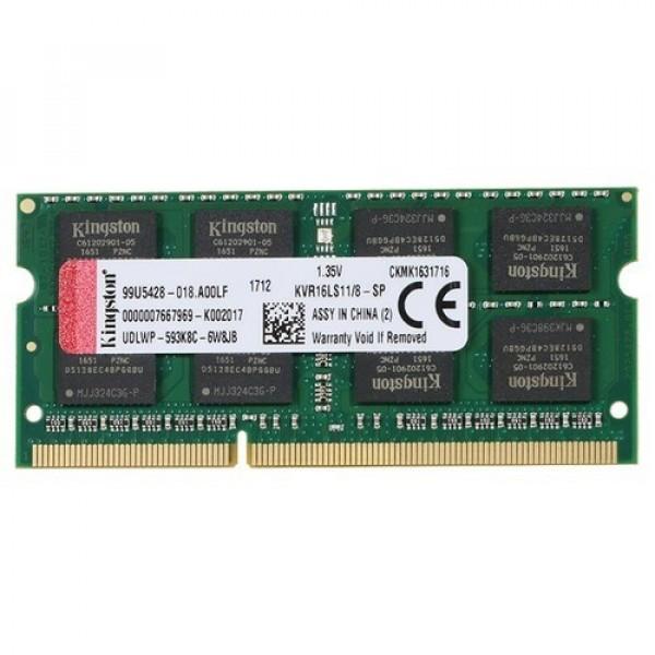 SODIMM DD3 8GB 1600MHz KVR16LS11/8