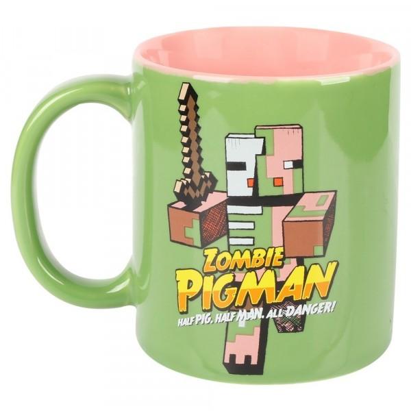 Minecraft Zombie Pigman Ceramic Mug