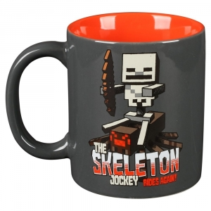 Minecraft Skeleton Jockey Ceramic Mug
