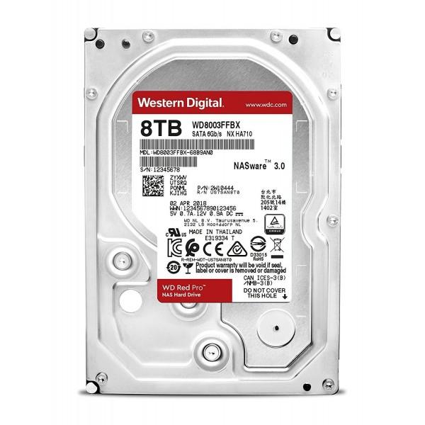 WD8003FFBX Red Pro 8TB