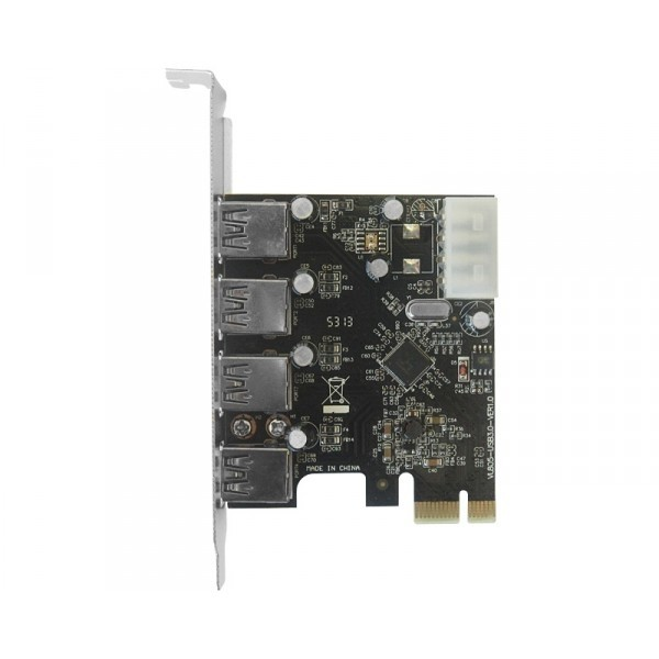 PCI Express kontroler 4xUSB 3.0