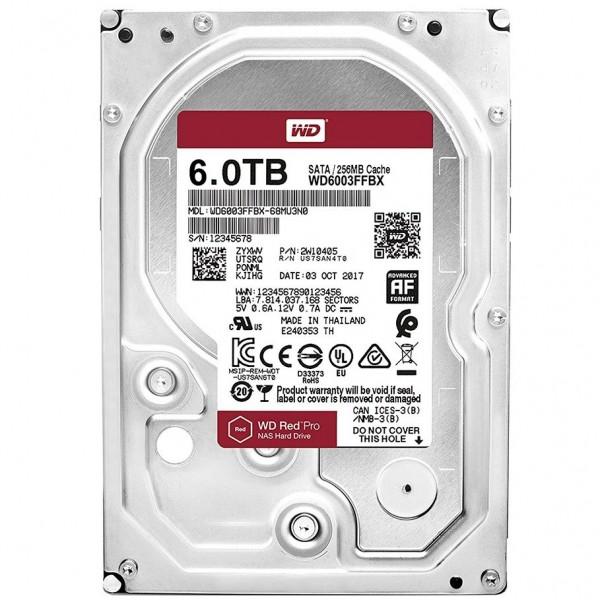 WD6003FFBX Red Pro 6TB