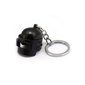 Games PUBG keychain - Black Helmet