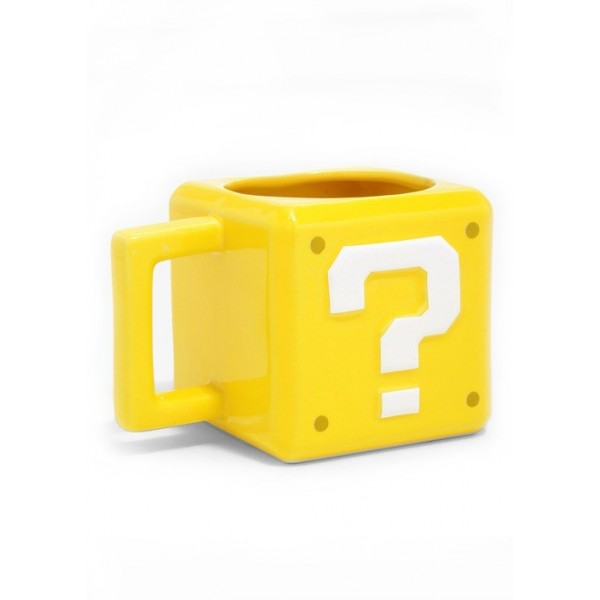 Nintendo Super Mario Question Block Mug