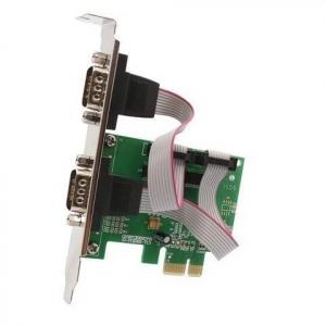 2-ports RS-232 DB-9 PCIEx PCE382-2S