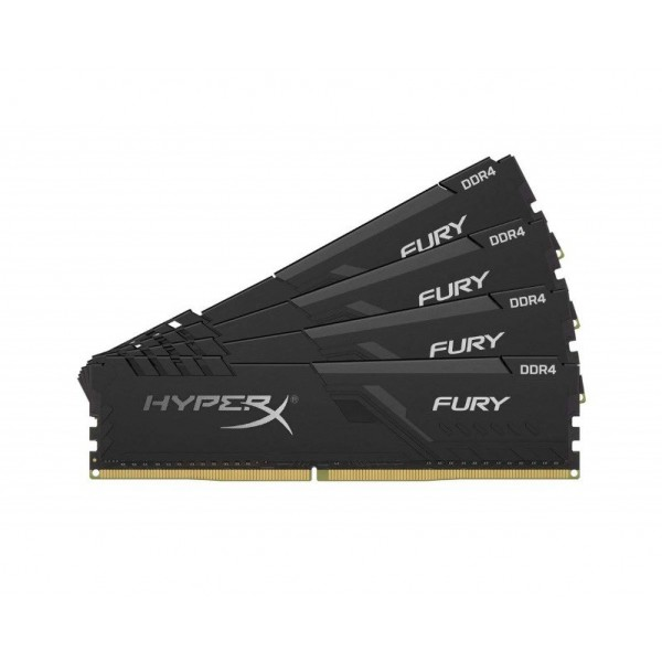 HX424C15FB3K4/64 HyperX Fury Black