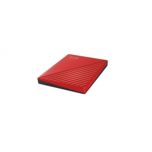 WDBYVG0020BRD-WESN My Passport USB 3.2 2TB Red