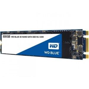 SSD 500GB WDS500G2B0B Blue 3D Nand