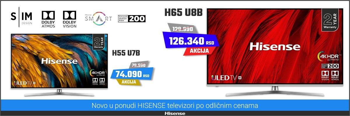 Hisense televizori AKCIJA