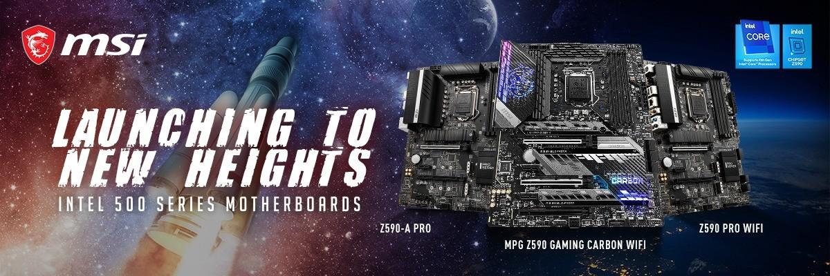 MSI Intel 500 Series Motherboards